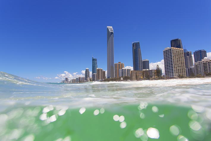 living in gold coast